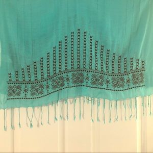 prAna | Scarf with Embroidered Embellishment